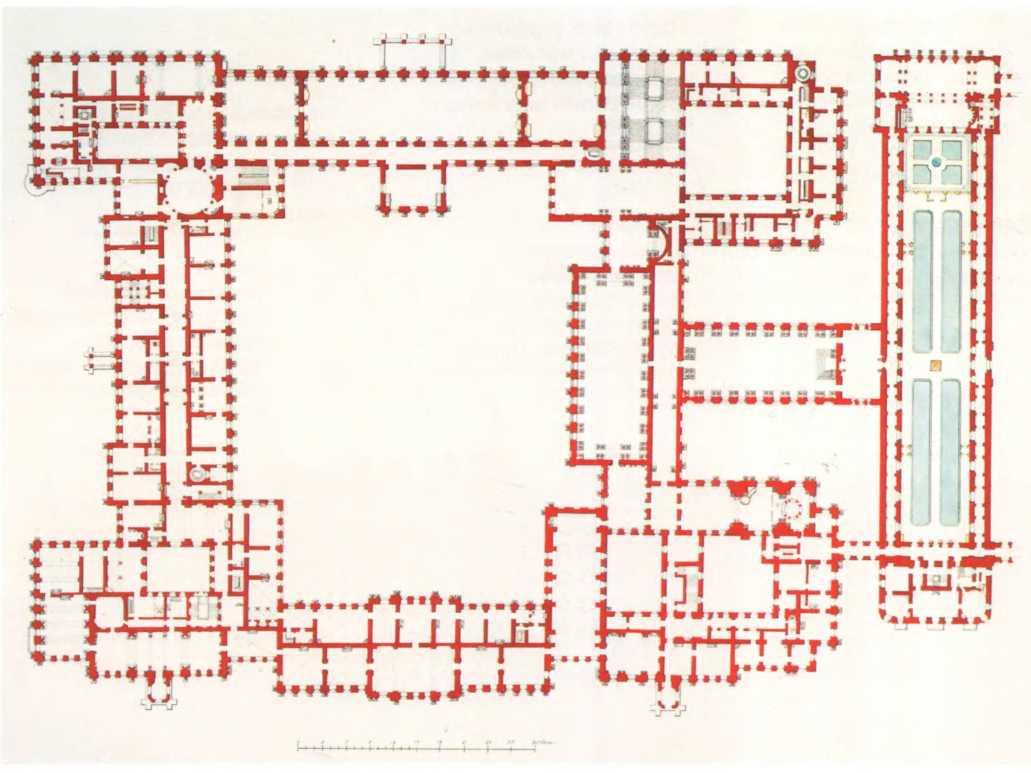 план схема государственного эрмитажа