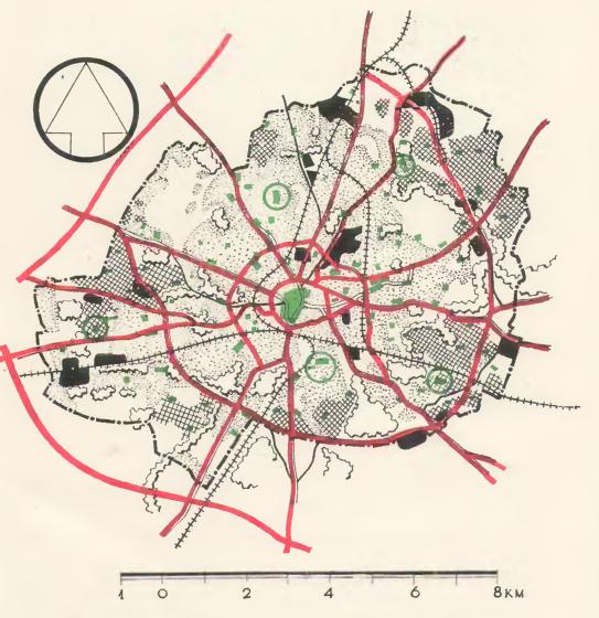 Схема уличной сети города фото 993