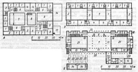 А — схема плана второго этажа